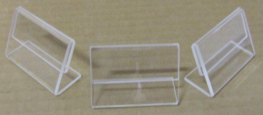Plexi ártábla kicsi,4x6 cm,10 db/csom.