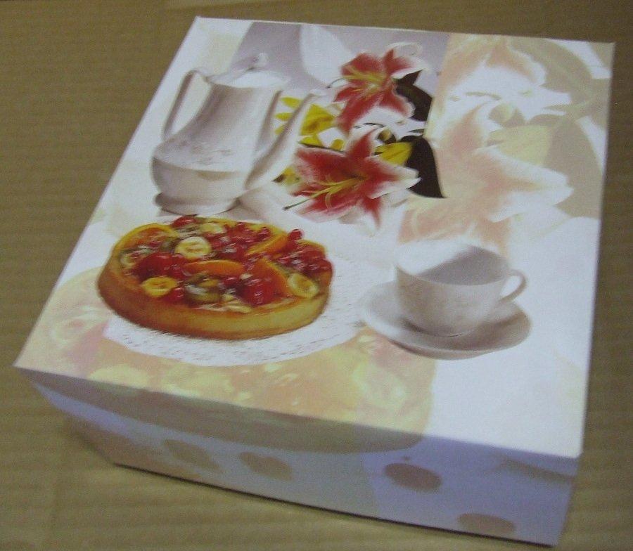 Süteményes doboz 20x10 Des Lys
