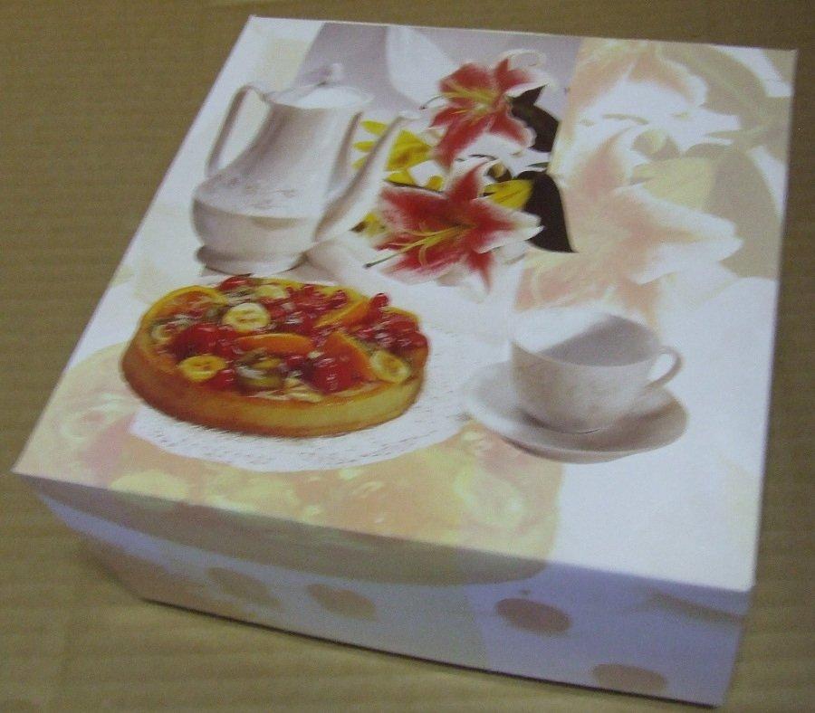 Süteményes doboz 23x10 Des Lys