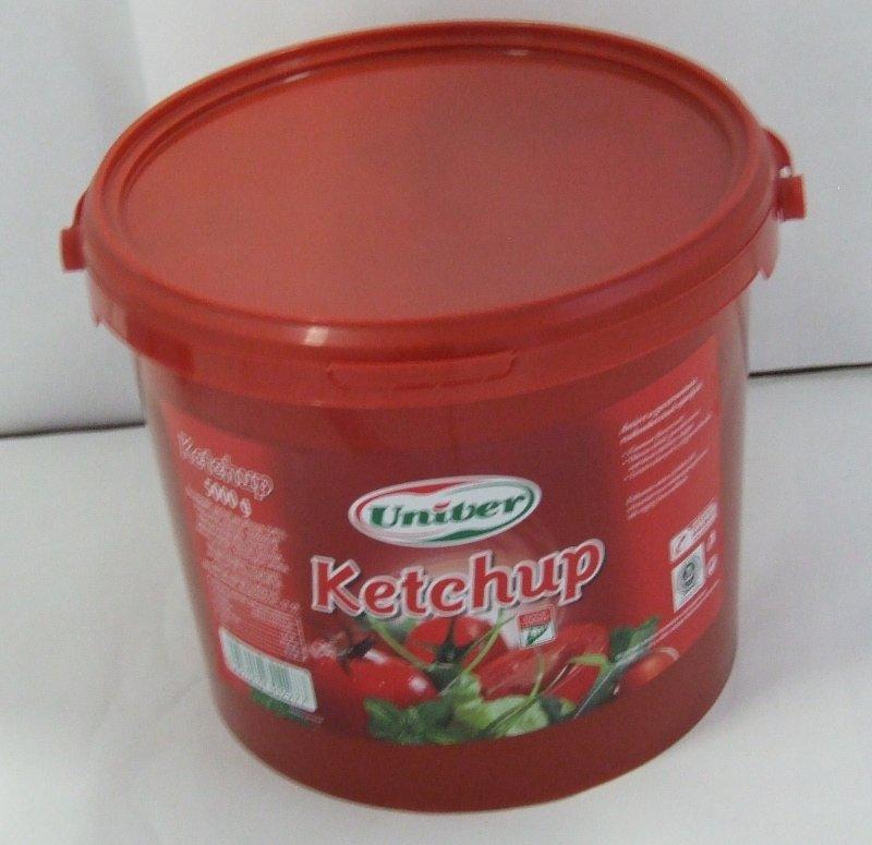 Ketchup 5 kg/vödör UNIVER