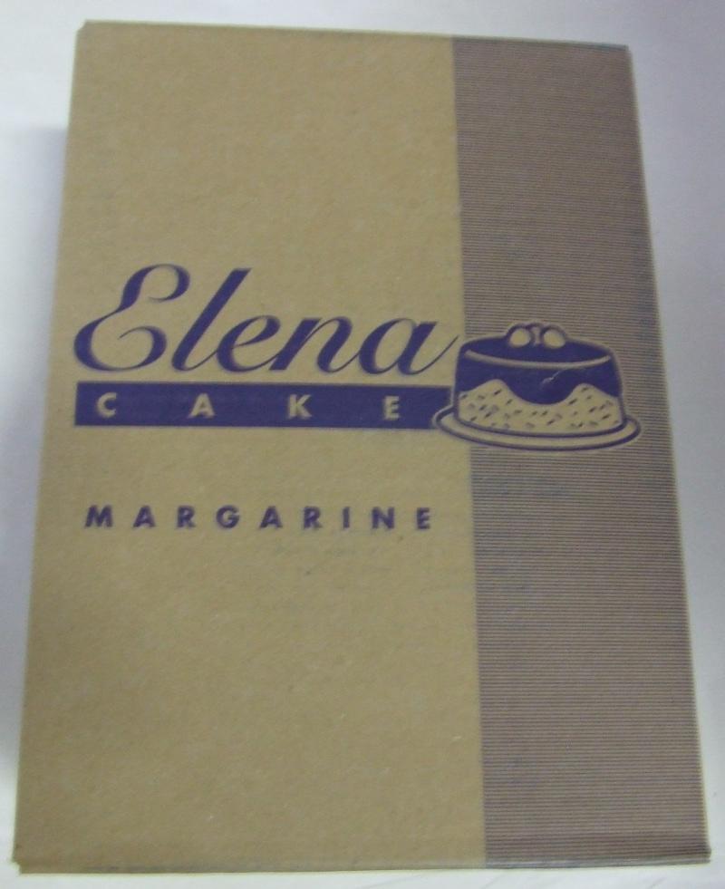 Margarin ELENA S sütő 10 kg /80%-os/~