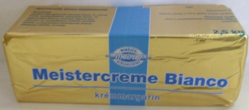 Margarin Meistercreme Bianco  10 kg BM
