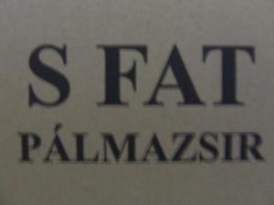 Pálmazsír 20kg/# S-FAT~
