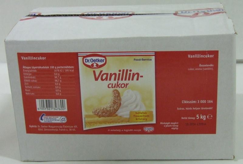 DR.OETKER Vaníliás cukor 5 kg/#