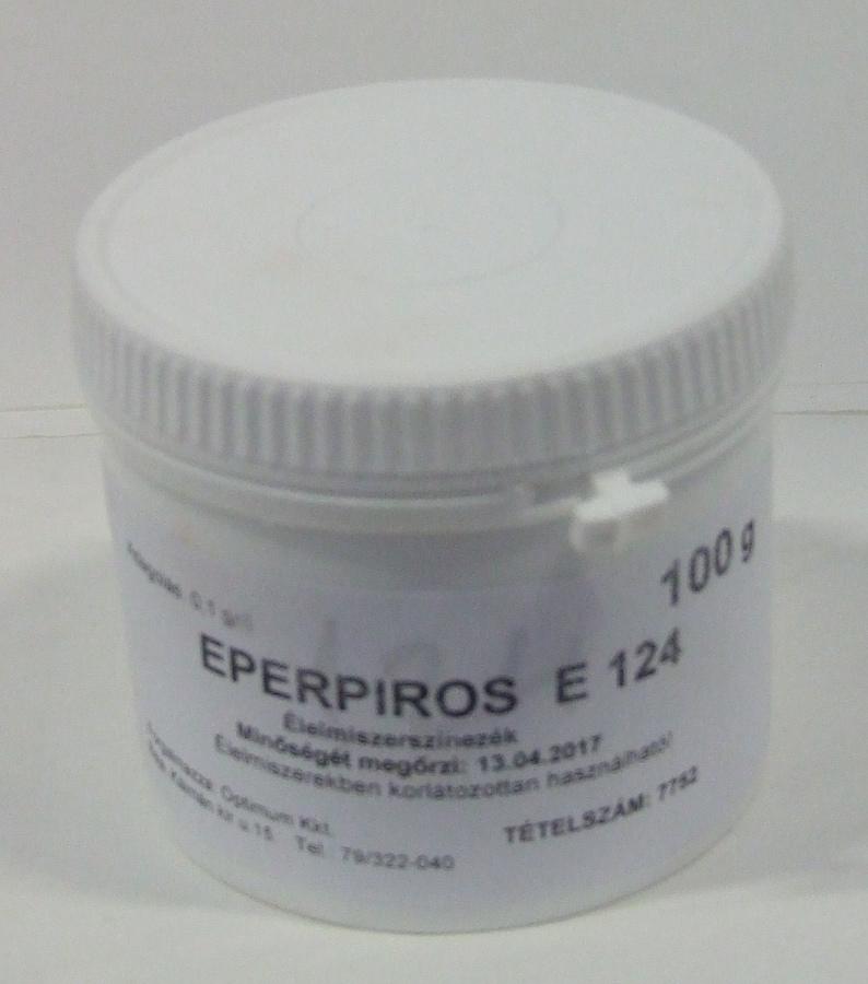 Festék Eperpiros 0,1 kg (Brix)