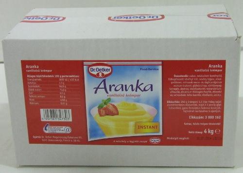DR.OETKER Aranka pudingpor 4 kg