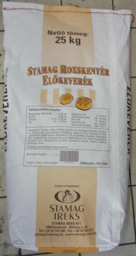 STAMAG Rozskenyér előkeverék 25 kg