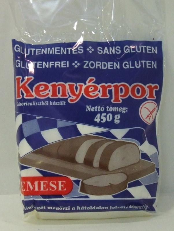 Kenyérpor gluténmentes EMESE 450gr/csom