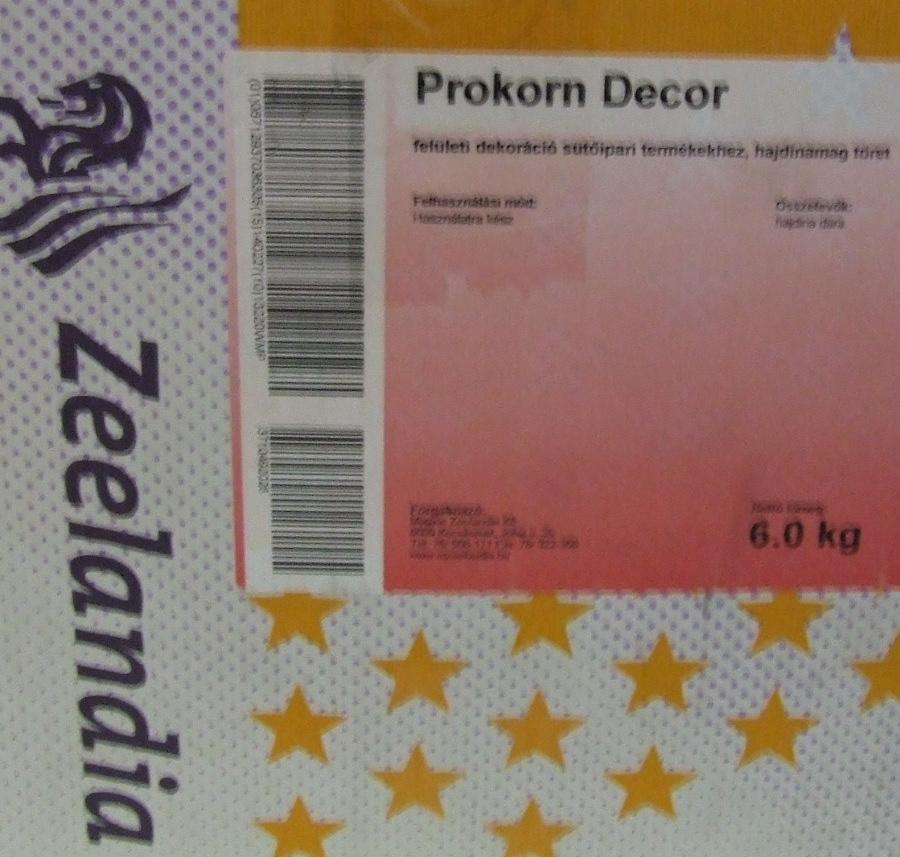 ZEELANDIA Prokorn Dekor 6 kg