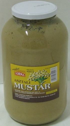 Mustár 4000 g FÉLEGYHÁZI~