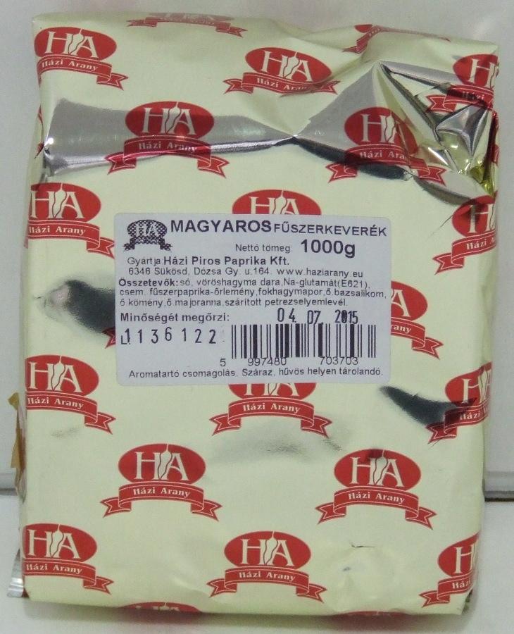 FŰSZERKEVERÉK Magyaros 1 kg HPP