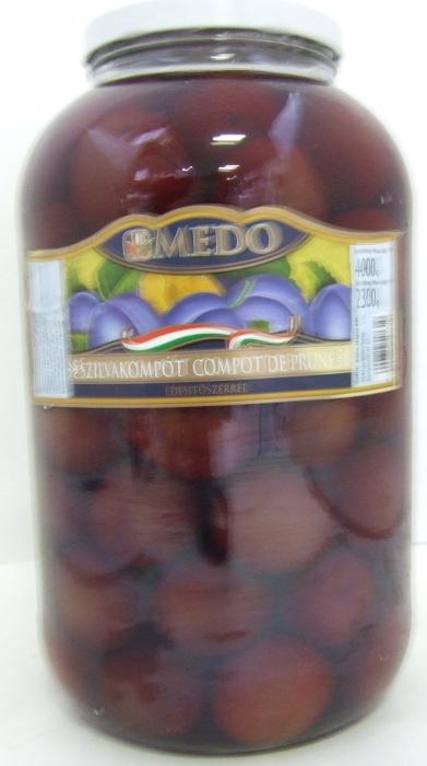 BEFŐTT Szilva 4250 ml MEDO