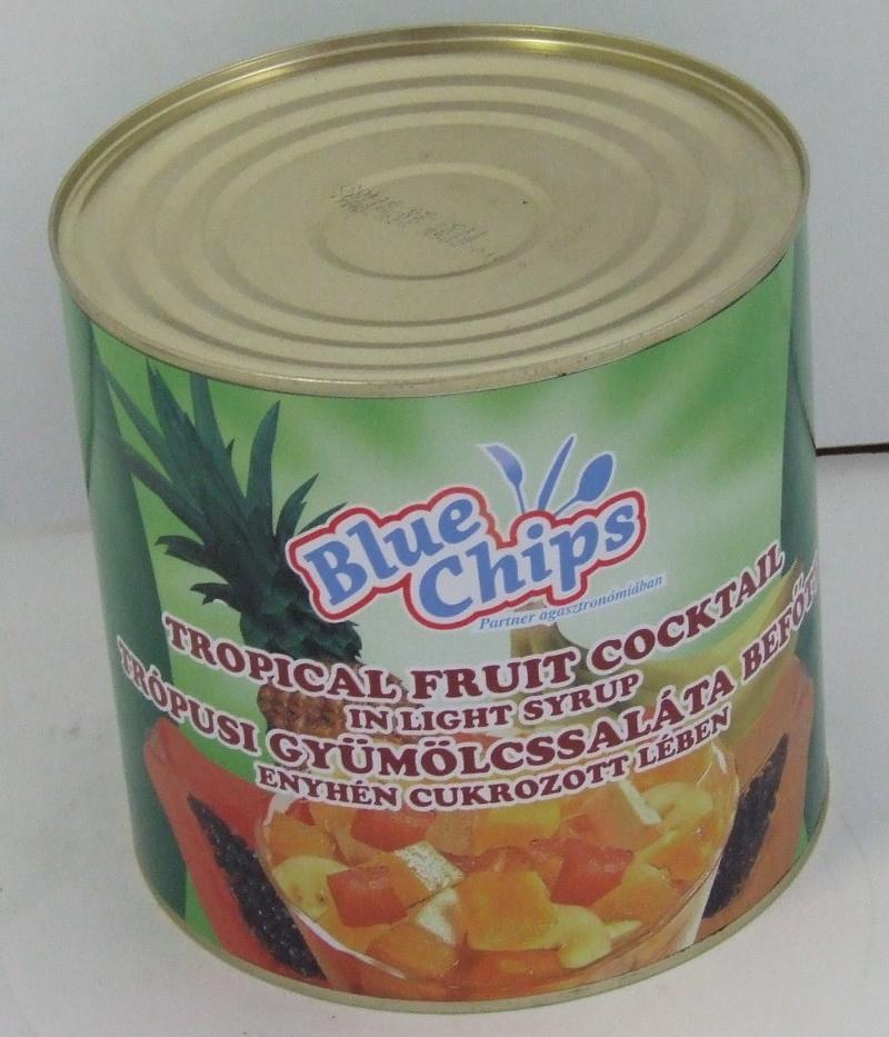 """Konzerv Gyümölcskoktél/TRÓPUSI 3/1 """"BC"""""""