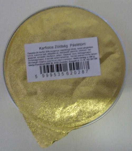 Konzerv Zöldségpástétom KARFIOL 105 gr
