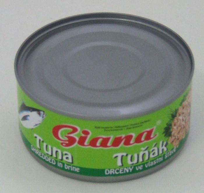Konzerv Tonhal apró sós lében 185 gr.