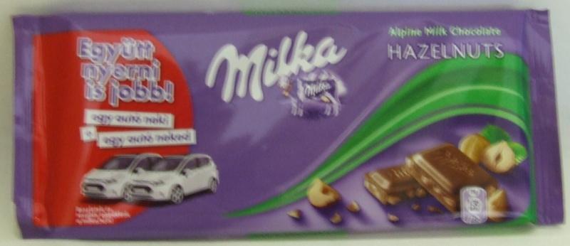 """Csoki táblás MILKA 100 gr. """"Dé"""""""
