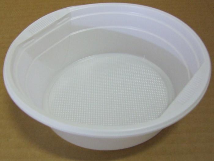Műanyag Gulyástál 0,5 l fehér 50db/cs*