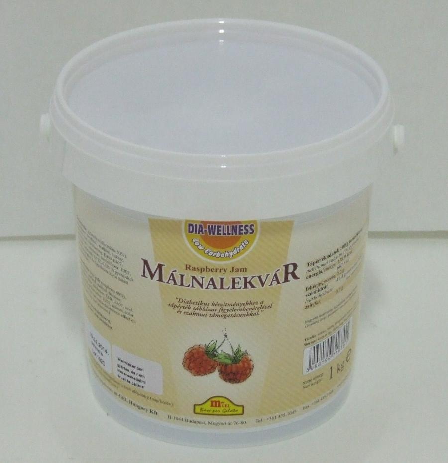 M-GEL Diabetikus Málna lekvár 1 kg