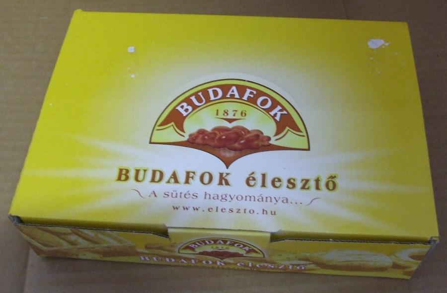 Élesztő BUDAFOKI 5 dkg-os