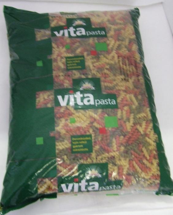 Tészta Zöldséges Orsó DURUM GYERM. 5 kg