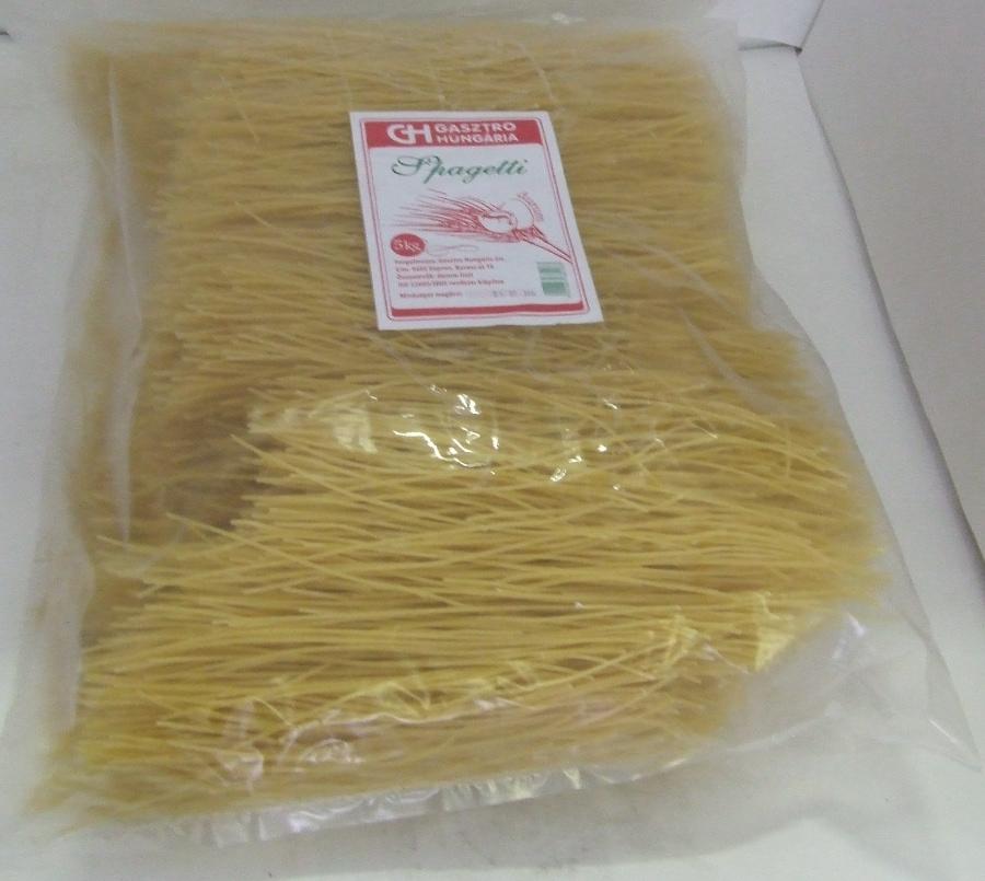 Tészta Spagetti DURUM GH 5 kg