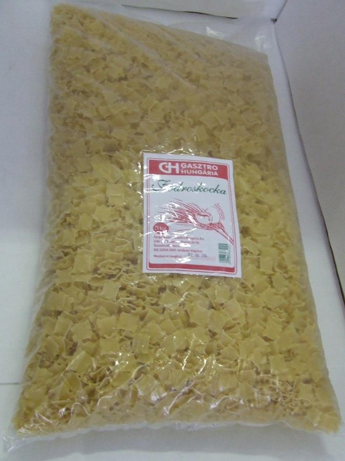 Tészta Fodros kocka DURUM GH 5kg