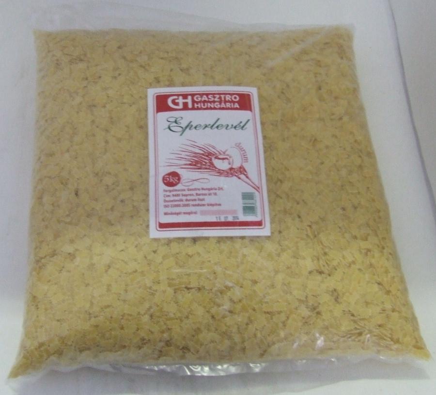 Tészta Eperlevél DURUM GH 5 kg