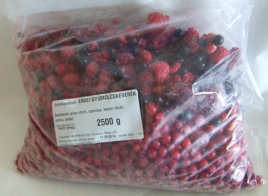 Fagyasztott Erdei gyüm.keverék 10 kg B