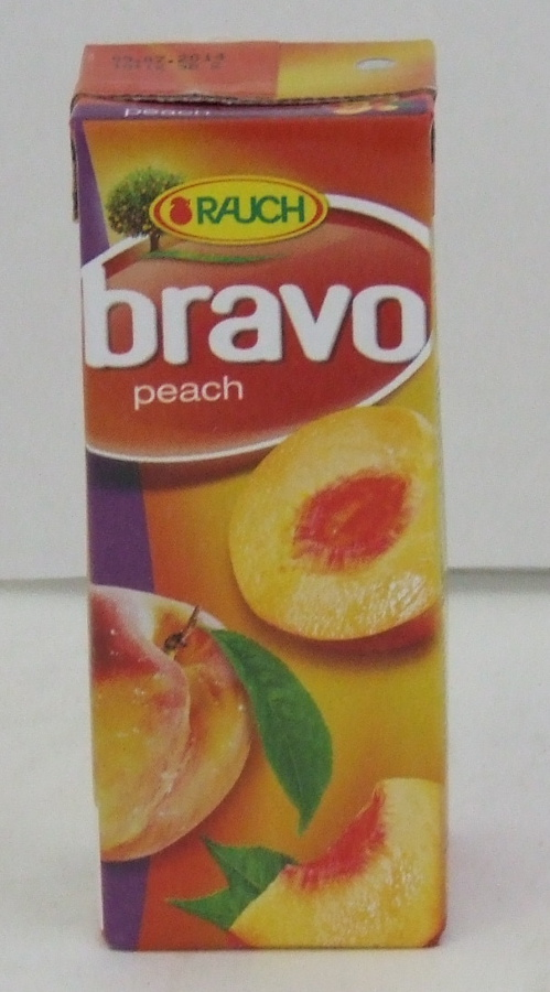"RAUCH ""BRAVO""Őszibarack 0,2 lit 27db/#"