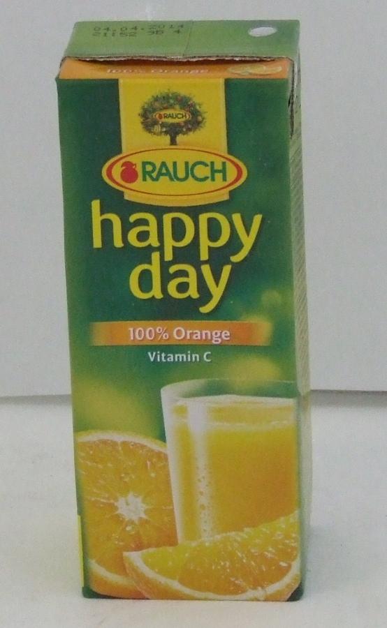 "RAUCH ""HappyDay""Narancs 100%0,2l 27db/#"