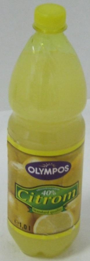 Citromlé 40 % OLYMPOS 1 liter