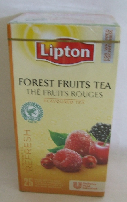 TEA LIPTON Erdei Gyümölcs 25x1,6gr/doboz