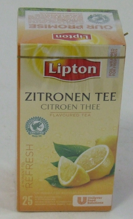TEA LIPTON Citrom 25x1,6 gr/doboz